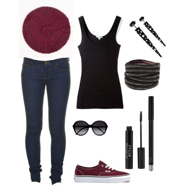 17 Best images about Vans outfits on Pinterest | Combat boots Beanie and Black vans