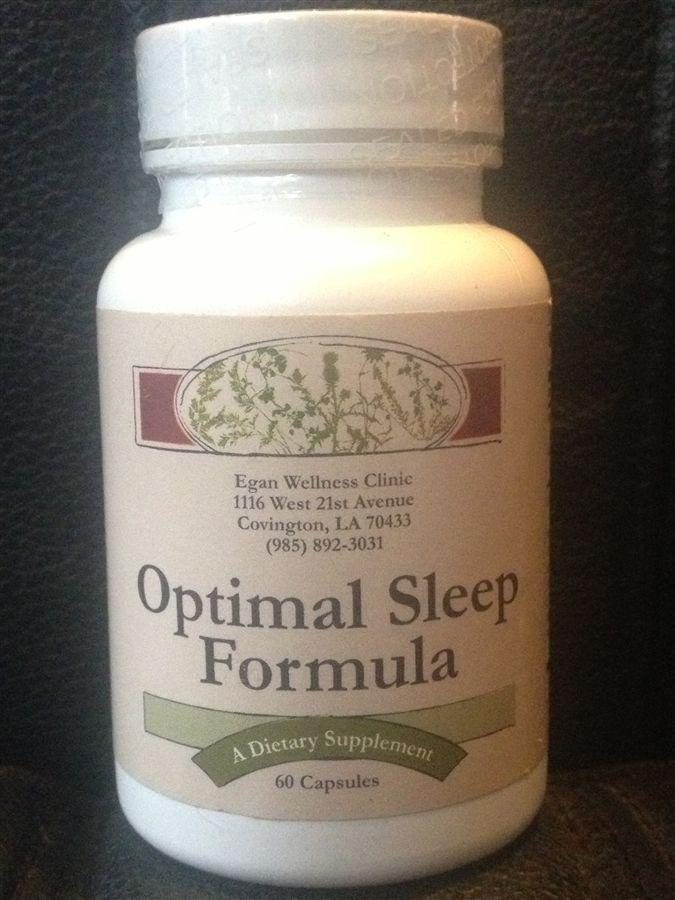 Optimal Sleep Formula (from EganMedical.com ) - Natural, OTC Sleep Aid that Actually Works #sleep #insomnia