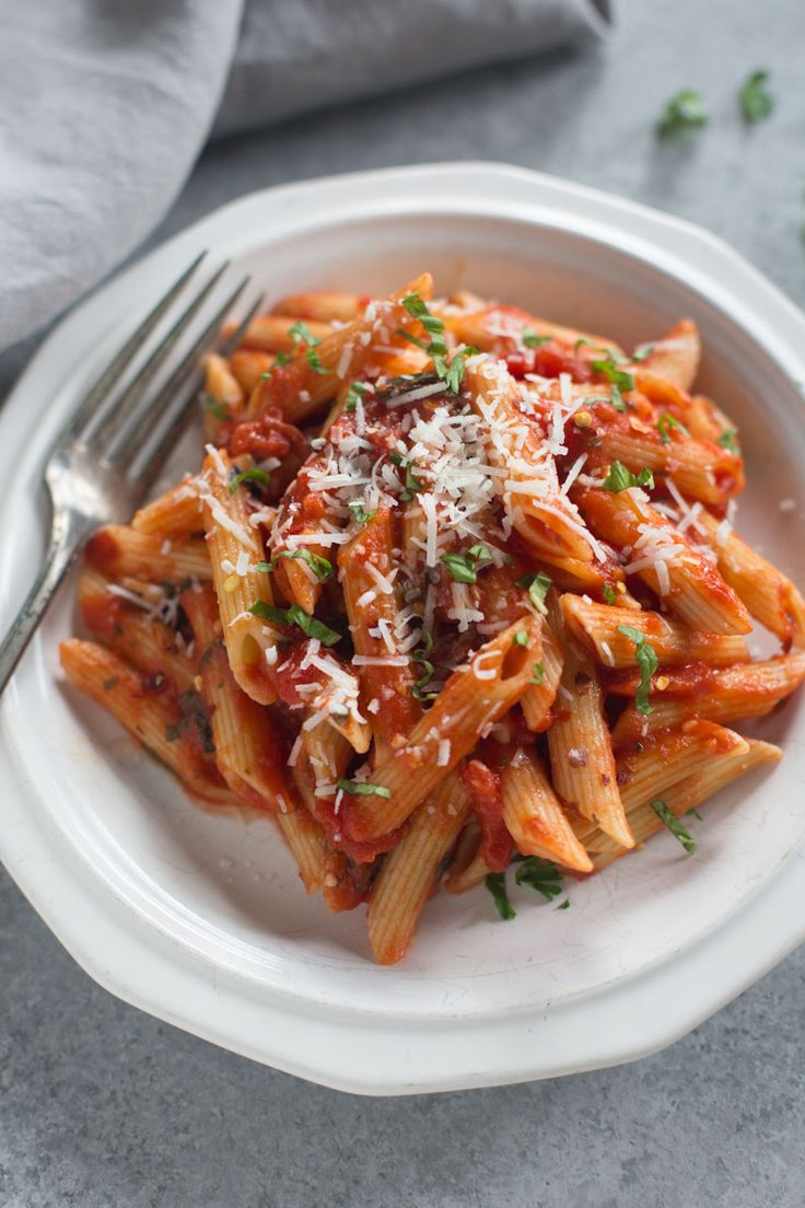 Penne Arrabbiata is anItalian pasta dish with penne noodles in a spicy tomato based sauce with fresh parmesan, basil and parsley.This simple Italian Pasta dish is one of my favorites, and it only takes 20 minutes to make! Guys, it's day 2 of my sharing another favorite dish from our recent trip to Europe! (Has...Read More »