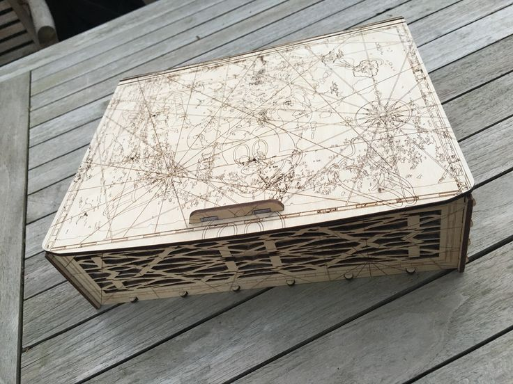 Giftbox looking like a treasure chest.