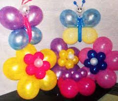 "Butterfly for bouquet 2 9"" in each color 1 &2, 1 Q60 in color 3"