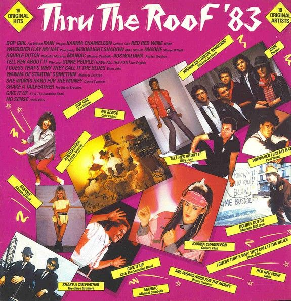 12 Best Images About 1980s Compilation Albums On Pinterest