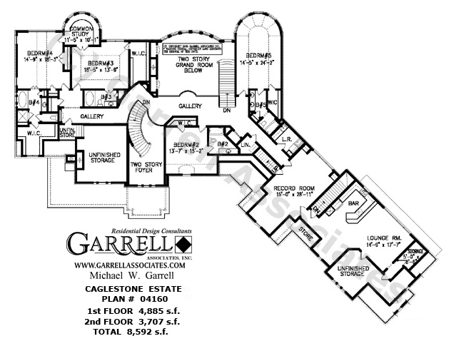 Caglestone estate 04160 house plans by garrell for Garrell and associates house plans