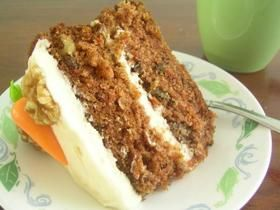 Moist Carrot Cake Recipe. Just made this recipe...did cupcakes instead of cake and use applesauce instead of oil and they're DELICIOUS.
