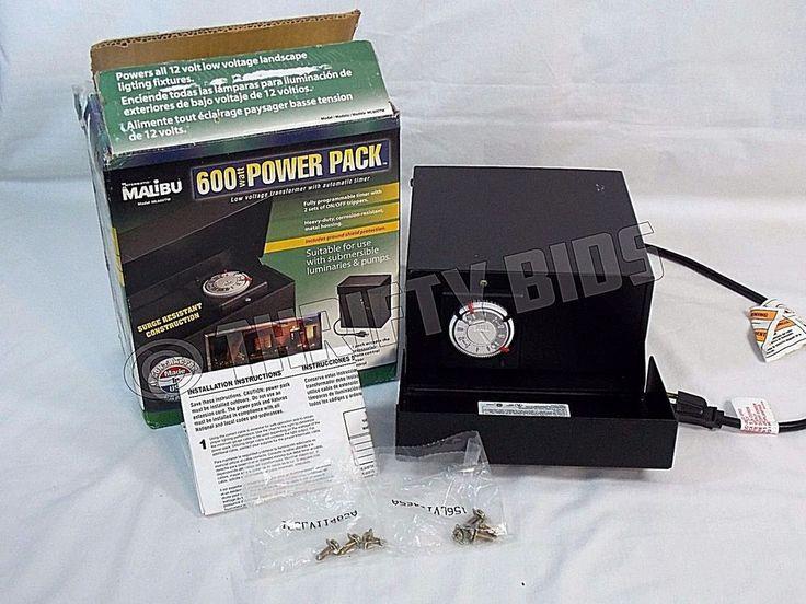 Intermatic Malibu Ml600tw Low Voltage Transformer 12v 600