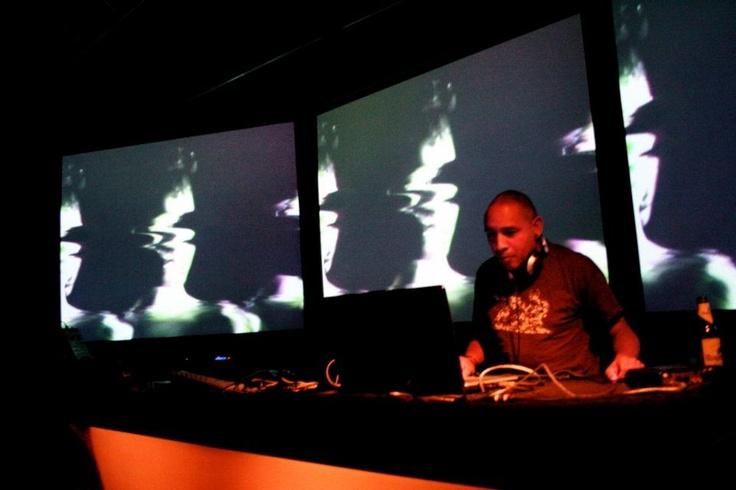 vj gig at Vertigo TAC, Eindhoven