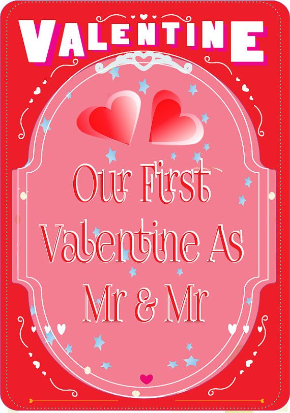 personalised fun gay valentines cards by peppermint2couk on etsy - Gay Valentines Cards