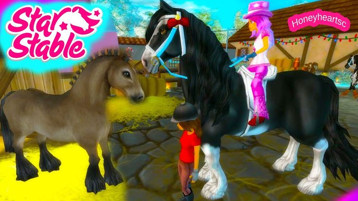 Star Stable Horses Game Let's Play with Honeyheartsc Part