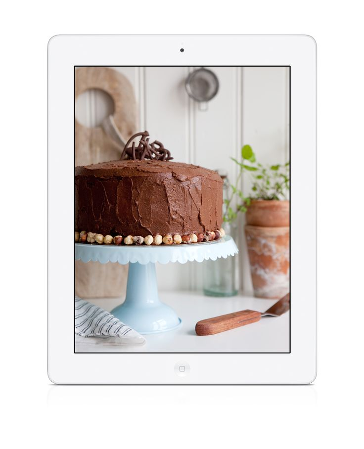 Devil's Food #Cake #glutenfree #glutenfri Cook & Bake Gluten Free is a #baking #cookbook #app filled with delicious recipes for cakes - tasty and gluten-free! Available for #iPad and #iPhone. Download today! https://itunes.apple.com/gb/app/cakes-cook-bake-gluten-free/id669052535?mt=8