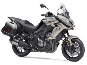 Kawasaki Versys 1000 Gets Metallic Titanium Colour For India