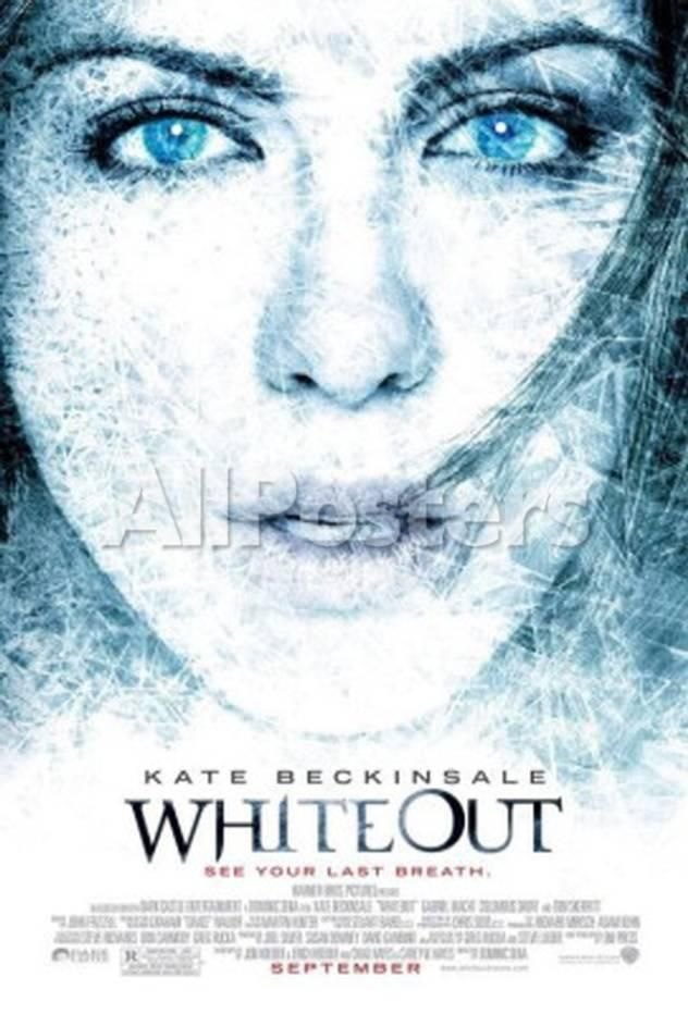Whiteout Movies Double-sided poster - 69 x 104 cm