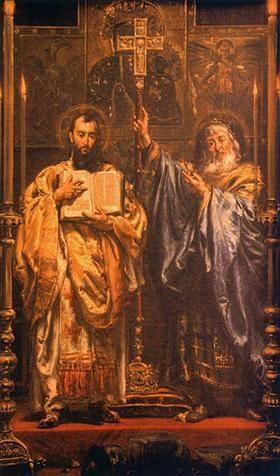 Cyril and Methodius - Jan Matejko