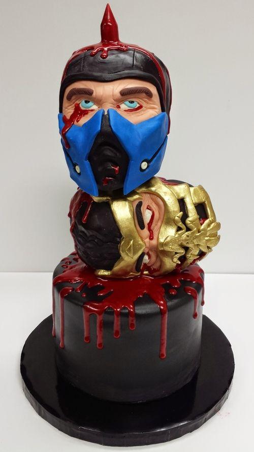 Mortal Kombat Cake Edward Cabral Cakes Pinterest