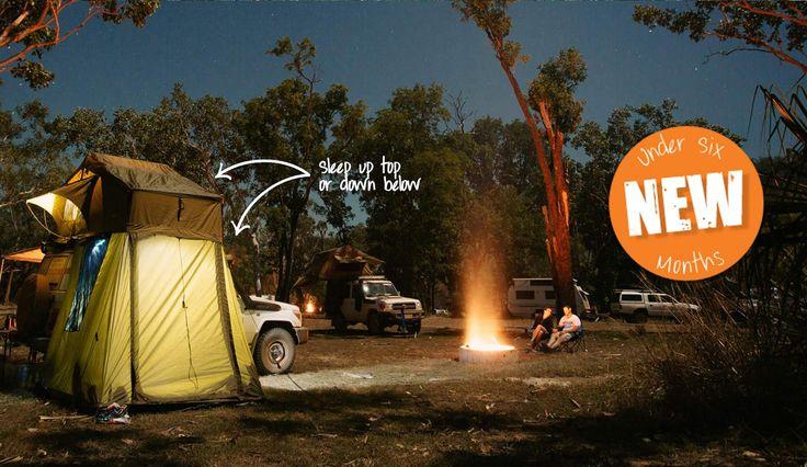 Image result for Darche tent for Britz landcruiser