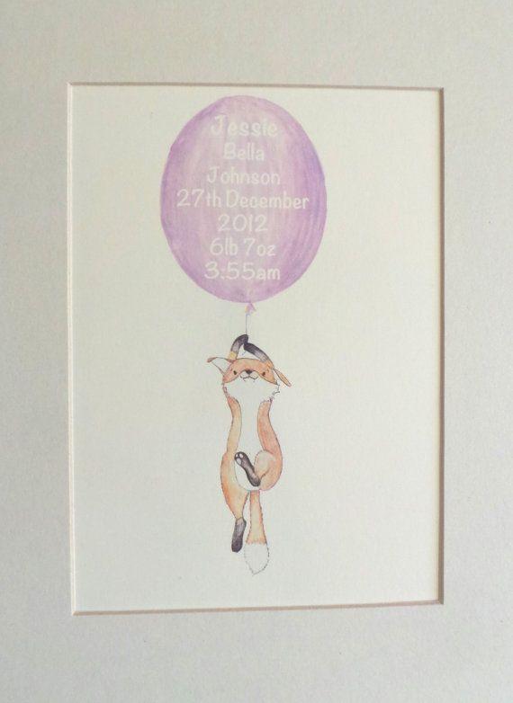a lovingly hand drawn illustration of a charming fox