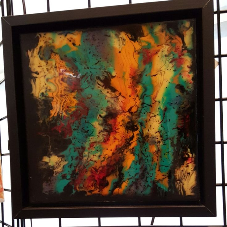 Epoxy Painting Canvas : Best images about epoxy siliconen on pinterest mold