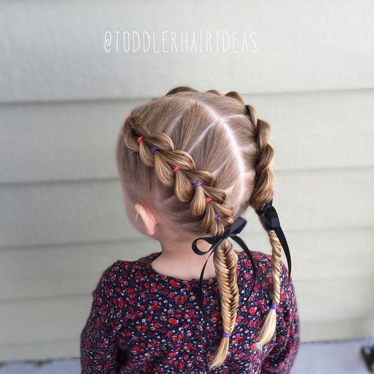 Superb 78 Best Images About Kid Hair On Pinterest Ponytail Hairstyles Short Hairstyles Gunalazisus