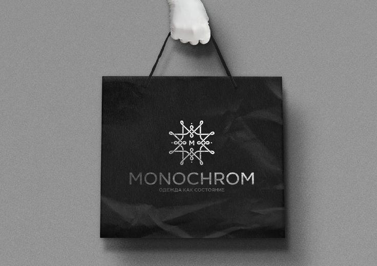 """Логотип для марки одежды """"Monochrom""""."""