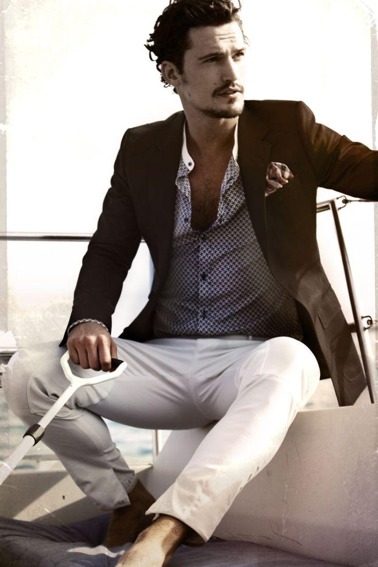 Jacket, Shirt, Pants.