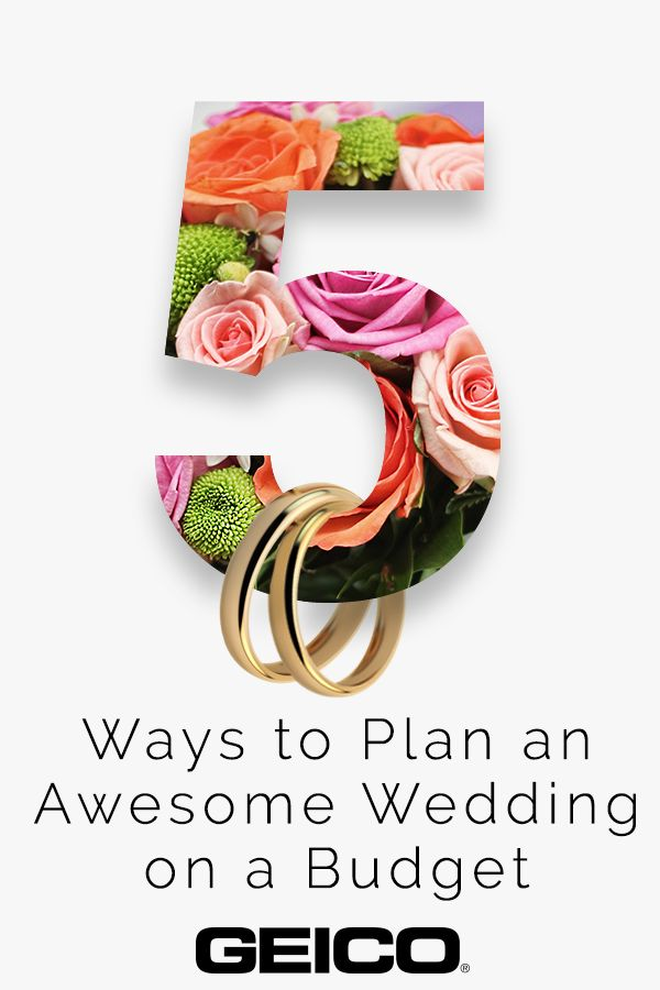 From getting help from family to being smart about catering, here's how to make your wedding prep a little less costly and a little more stress-free.  #weddingplanning #moneyfriendlywedding