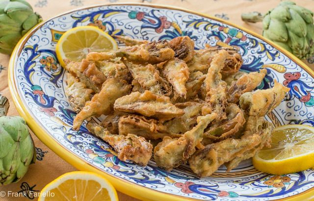 Carciofi fritti.  I'd make a gluten free version but when it is time to splurge I want these on the appetizer menu.