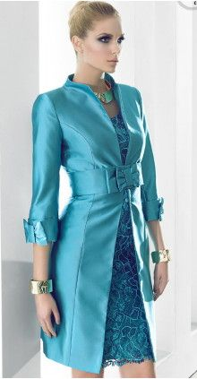 Mother of the bride outfits, A Carla Ruiz gorgeous dress and coat