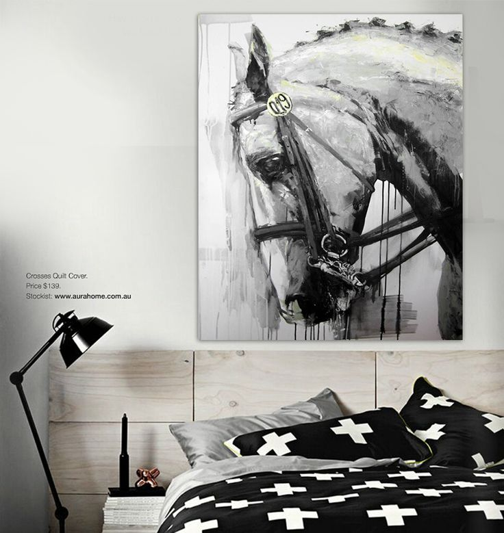 Dressage Horse Abstract KW By Lara Jee