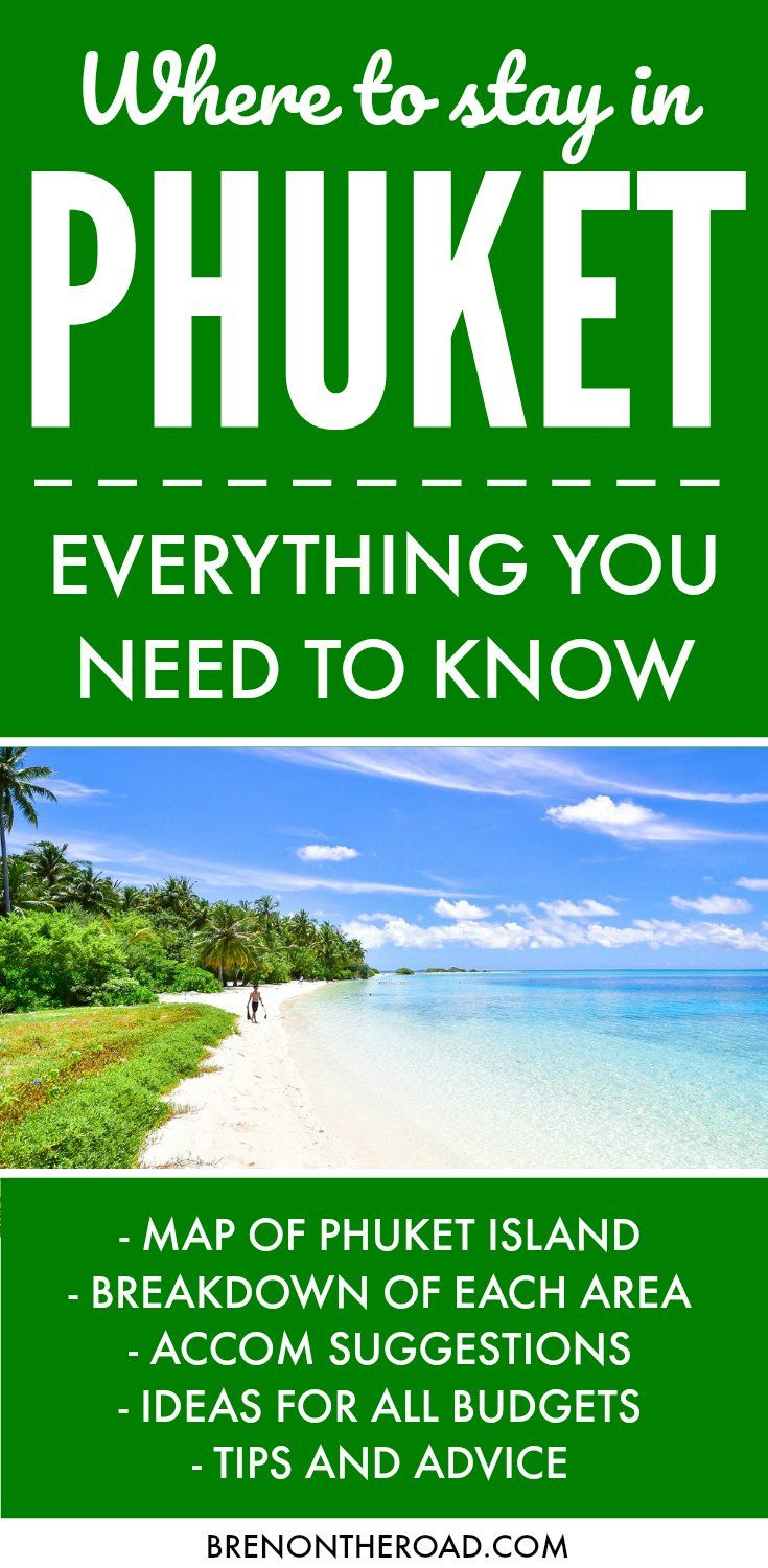 Heading to Phuket? This island has everything! Backpacker hostels, ridiculous luxury, culture and history, hedonism, cuisine, deserted beaches. So much of how your holiday turns out will depend on where you choose to stay. In this guide we take you through each area of Phuket, what to expect, and what kind of experience you can expect. Click through to get the inside scoop before booking your Phuket vacation. via @brenontheroad