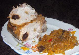 W Mojej Kuchni Lubię.. : szybkowar-smakołyk schabowy ze śliwkami,czosnkiem ...