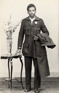 16. Many of the West Indian men were also employed as Bus Drivers in Birmingham during the 1950s & 60s. Photographs were taken at Ernest Dyche's studio and sent back home to the West Indies to show their families back there, that they were doing 'OK': photographer Ernest Dyche (Click on the photo and go to the link to read more).