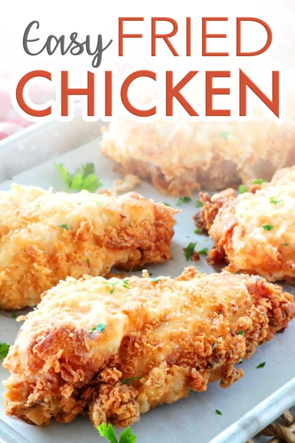 Pin On Fried Chicken Recipes