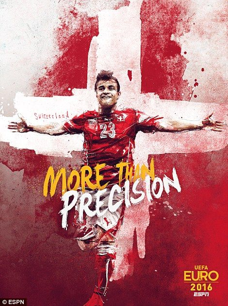 #EURO2016 Switzerland's hopes rest on Xherdan Shaqiri in France this June