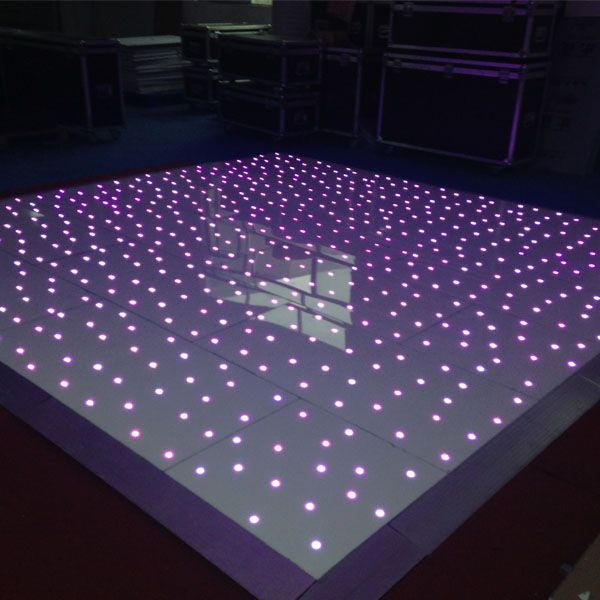 RGB led dance floor,Can show many difference colors whatever you want,Let's your wedding special