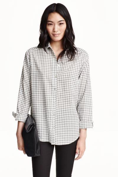 Camisa de algodão   H&M