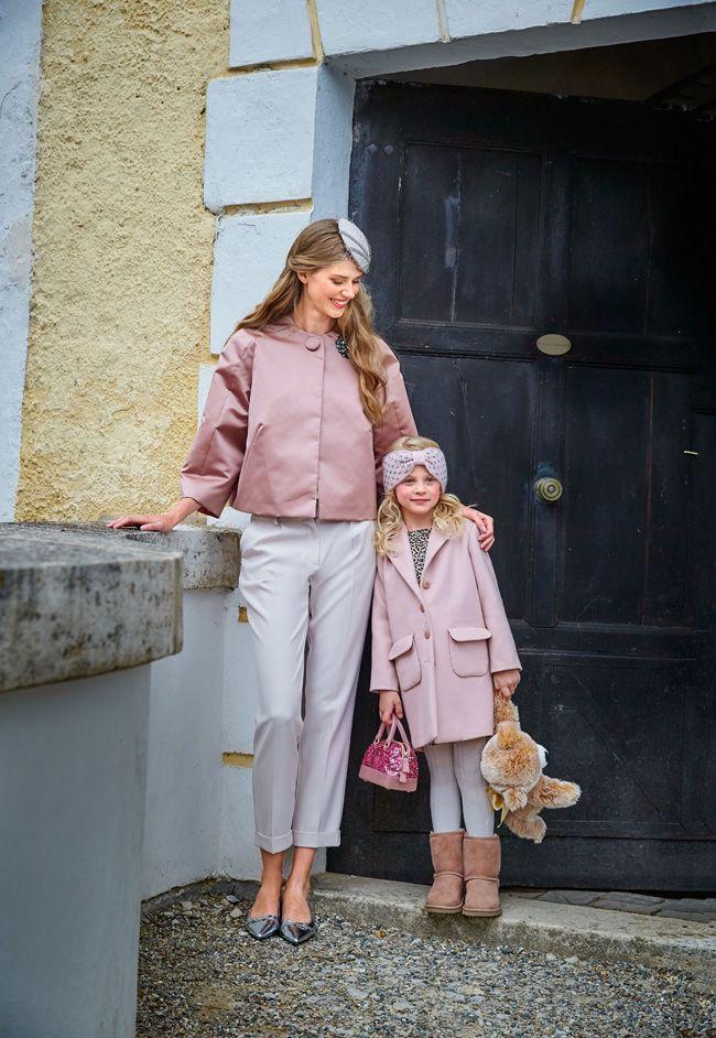Пальто для девочки - выкройка № 135 из журнала 12/2015 Burda – выкройки пальто на Burdastyle.ru