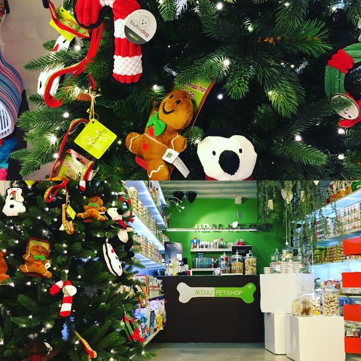 Da Minu' Pet Shop si respira aria di Natale #treviso #minupetshop #christmas #noel