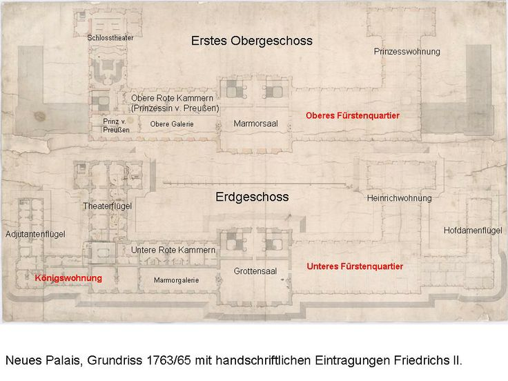 H. Graf, The Neues Palais of King Friedrich II the Great, Potsdam - perspectivia.net