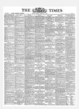 The Times newspaper as it looked in the 1940s