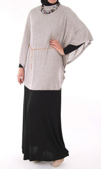 Butterfly Abaya Dress with wool effect tunic – Rashida Amin - Islamic Clothing, Abaya, Jilbabs, Hijabs