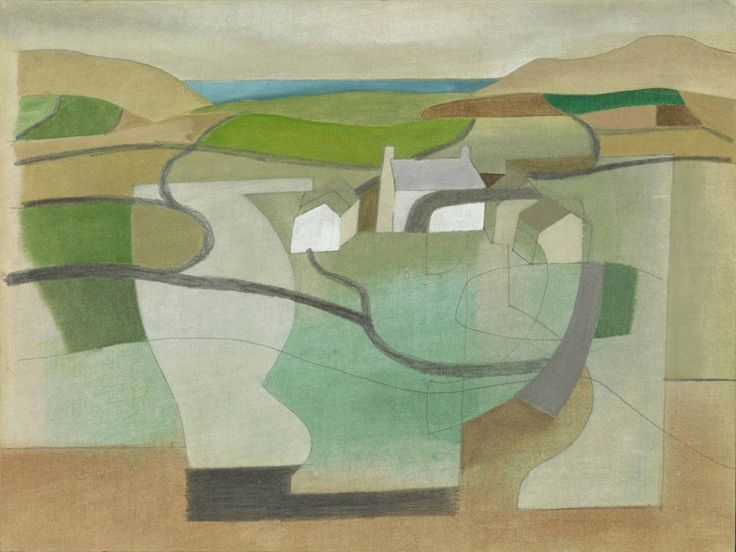 Ben Nicholson: June 11 1949 (Cornish Landscape)