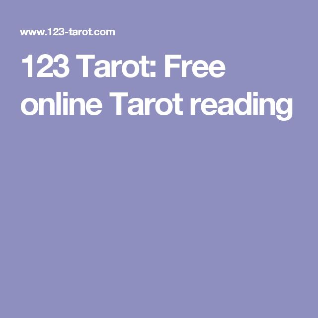123 Tarot: Free online Tarot reading
