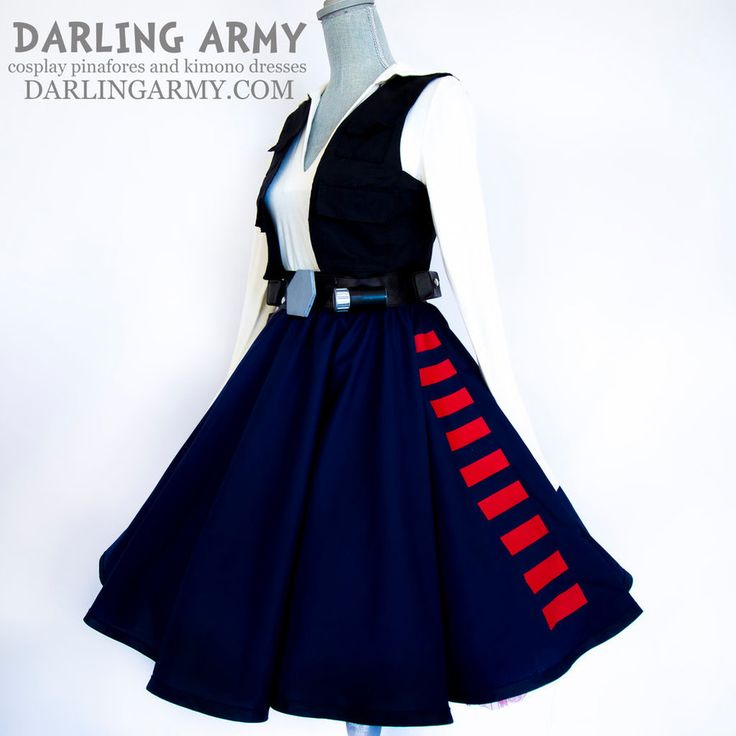 Han Solo Star Wars Tea Length Pinup Cosplay Skirt by DarlingArmy on DeviantArt
