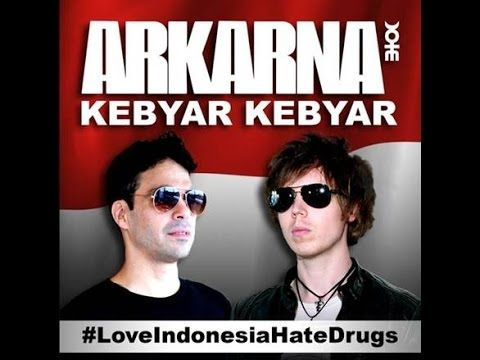 Arkarna British Band had made 'Kebyar-Kebyar', Video Teaser, Indonesian Song composed by the late GOMBLOH, on WMI YouTube Account. They said MERDEKA!   Kebyar Kebyar full video out now! What an incredible year its been ‪#‎LoveIndonesiaHateDrugs‬ Spread the word ‬ ‪#‎IndependenceDayIndonesia‬ tomorrow! new single from Arkarna British Band Kebyar Kebyar is OUT NOW to Download from ITunes Indonesia! MERDEKA! #RI70