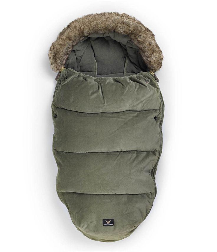 Elodie Details - Śpiworek zimowy do wózka Woodland Green