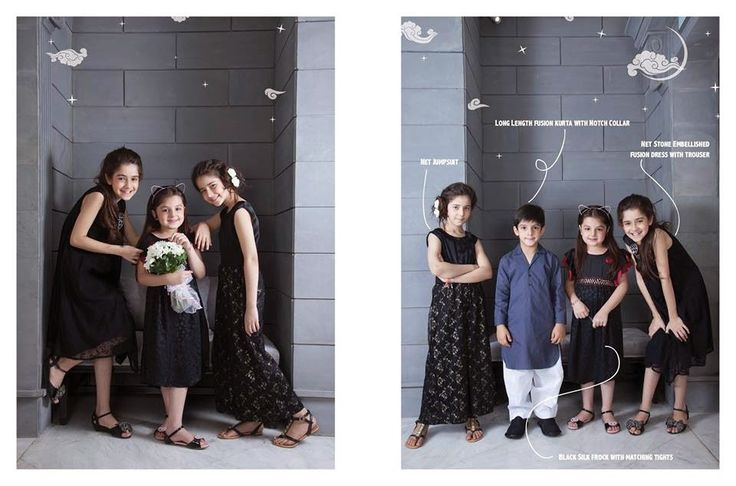 Nishat Linen Kids Eid Collection 2014 | Summer Wear Dresses For Small Boys And Girls For Eid