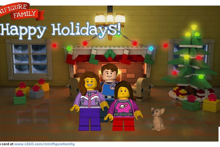 Have you made a free LEGO holiday ecard yet that turns your family into minifigs? The kids will love it.