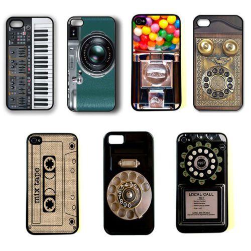Retro Vintage Camera Phone Piano CD Hard Case Cover Skin for iPhone 4 4S 5 5c | eBay