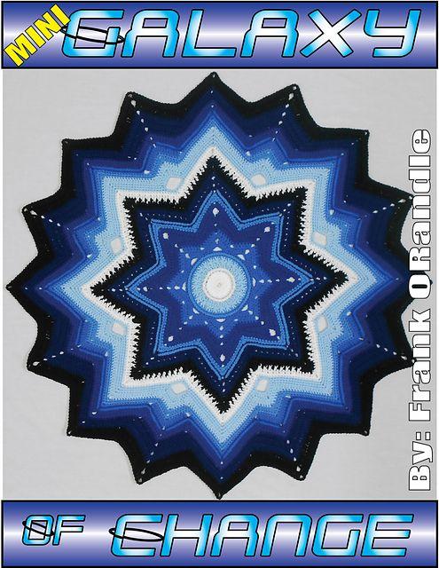 Ravelry: Mini Galaxy of Change pattern by Frank O'Randle