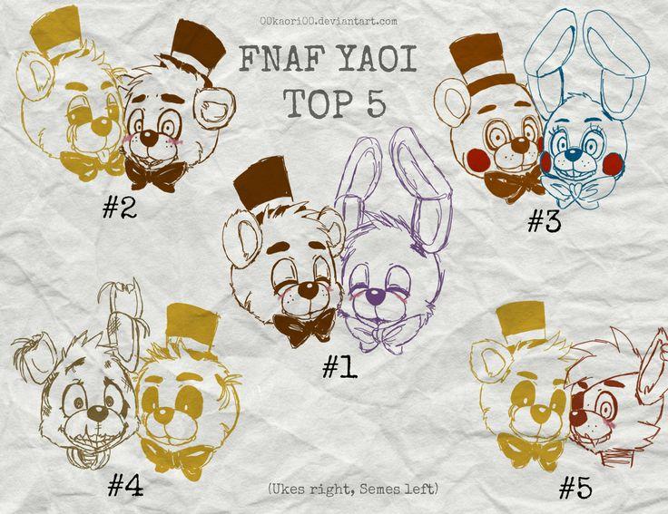 FNAF TOP 5 YAOI SHIPS by 00KaoRi00.deviantart.com on ...