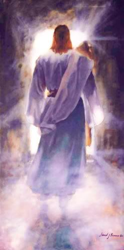 """""""The First"""" - painting by Jared Barnes     ...Jesus Leaving the Tomb..."""